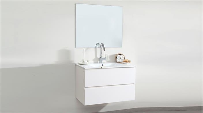 ארון אמבטיה לבן עם מגירות במבצע