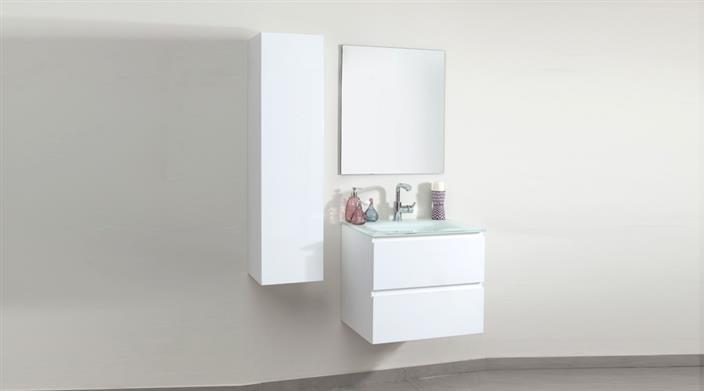 ארון אמבטיה לבן במבצע בעיצוב חדשני