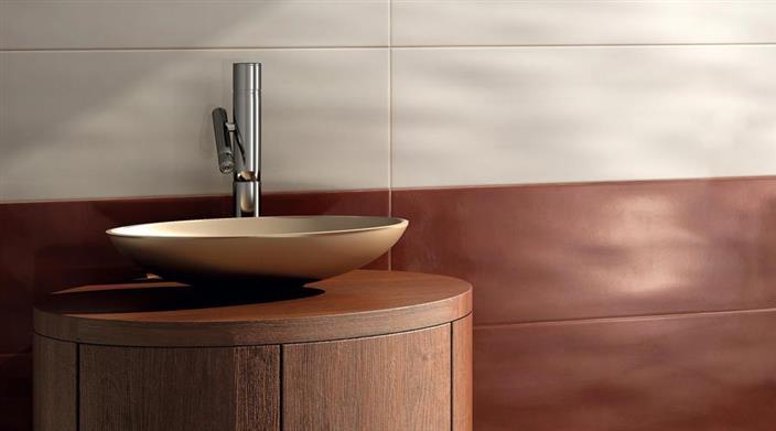 ארון אמבטיה בדגם דקורטיבי