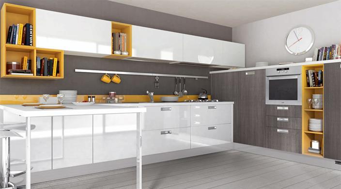 מטבח מודרני בעיצוב נקי
